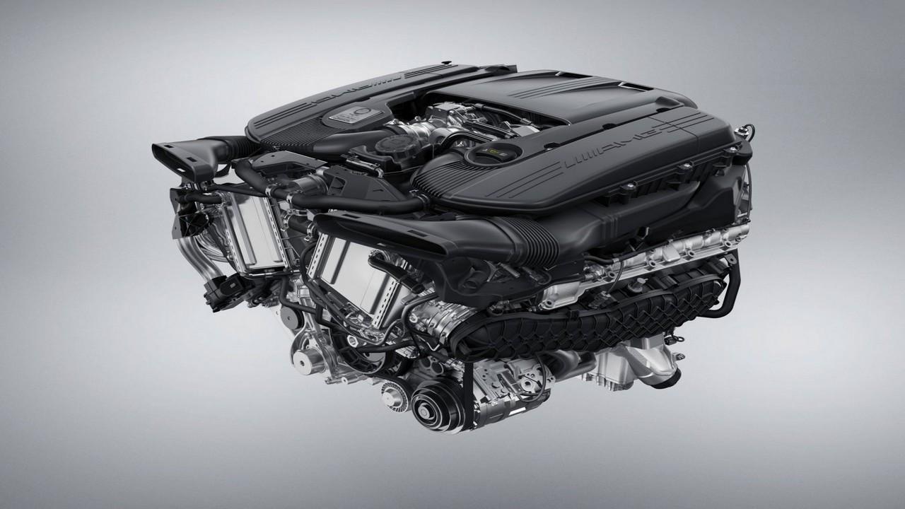 4.0-Litre V8 Biturbo Engine