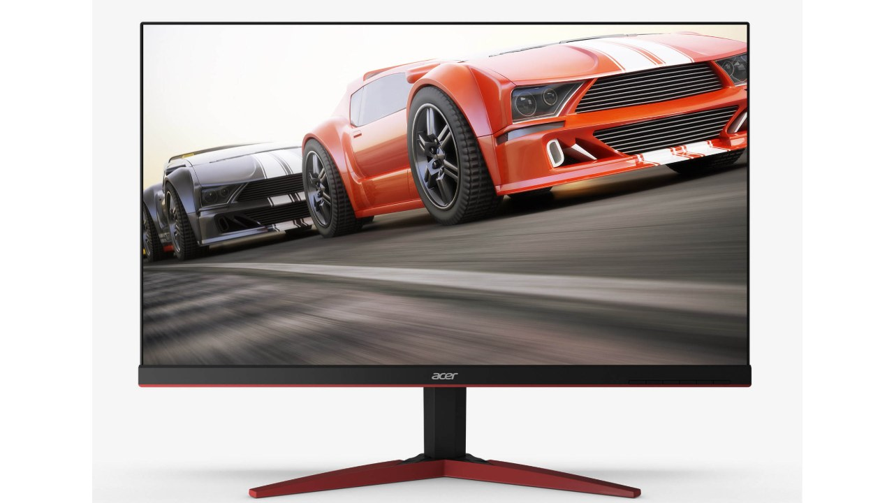 Acer KG271 Cbmidpx | 27-inch Screen Size | AMD Free Sync | 144Hz Refresh Rate | Full HD 1920x1080 resolution | 1ms Response Time | TN Panel | Rs 21,499 | Unlike most other monitors on the list, this Acer monitor is 27 inches and while that gives you a larger screen size, 24 inches seems to be the ideal size for FHD resolution. But that doesn't change the impressive specifications on this gaming monitor.