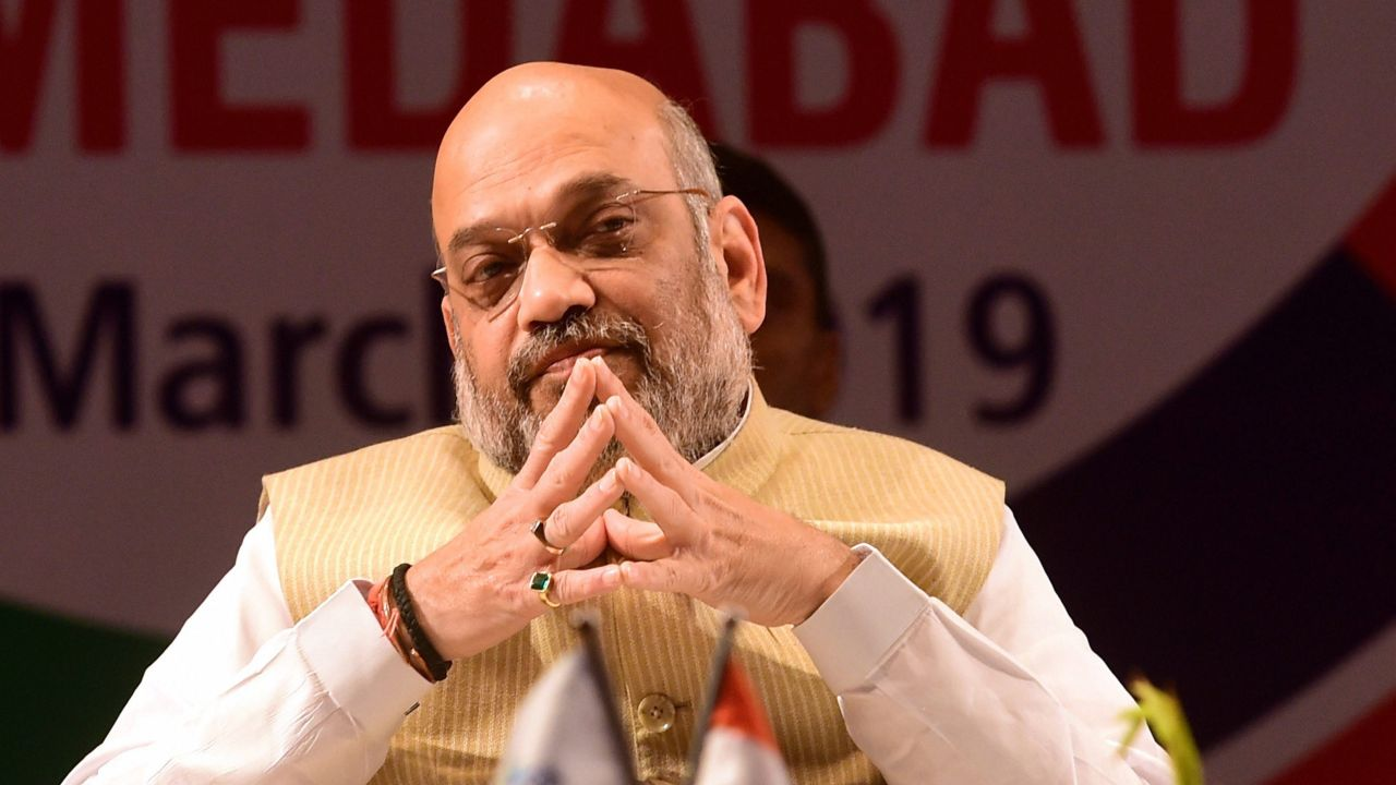 On Congress' NYAY scheme | Shah said a 'concerned' Congress could have implemented such a programme to alleviate poverty during its 10 years of the UPA regime