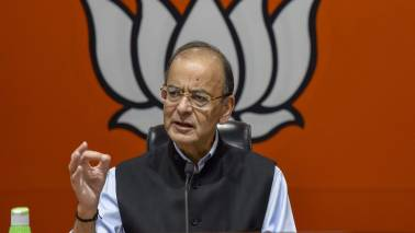 Finance minister Arun Jaitley says that the government will stick to the fiscal glide path if voted back to power