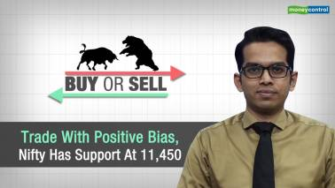 Buy Or Sell | Trade with positive bias, Nifty has support at 11,450