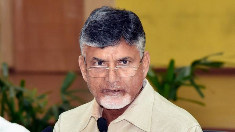 Andhra govt serves eviction notice to former CM Naidu