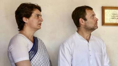 Rahul Gandhi blames party trio of placing sons before party; Priyanka Gandhi says he fought alone