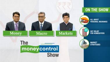 The Moneycontrol Show | Personal insurance, GST relief for realty, market strategies