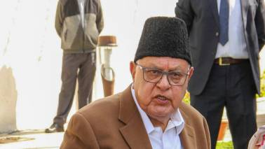 Farooq Abdullah leads campaigning of alliance candidates in Jammu