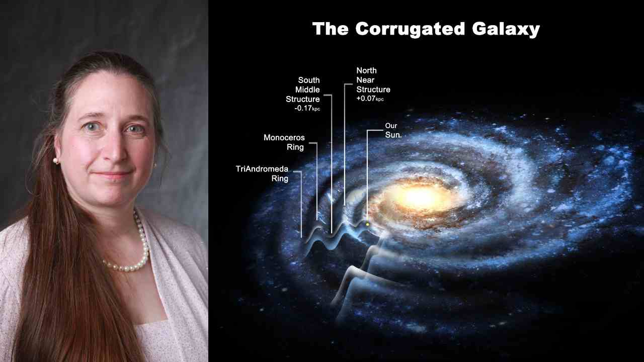 3. Heidi Jo Newberg - Milky way structure | In 2015, Newberg and her team found that the Milky Way wad a corrugated plane instead of a flat structure. The research team also concluded that the galaxy is 50 percent larger than previously predicted. Newberg continues to study the Milky Way at the Rensselaer Polytechnic Institute, New York. (Images: Rensselaer Polytechnic Institute)