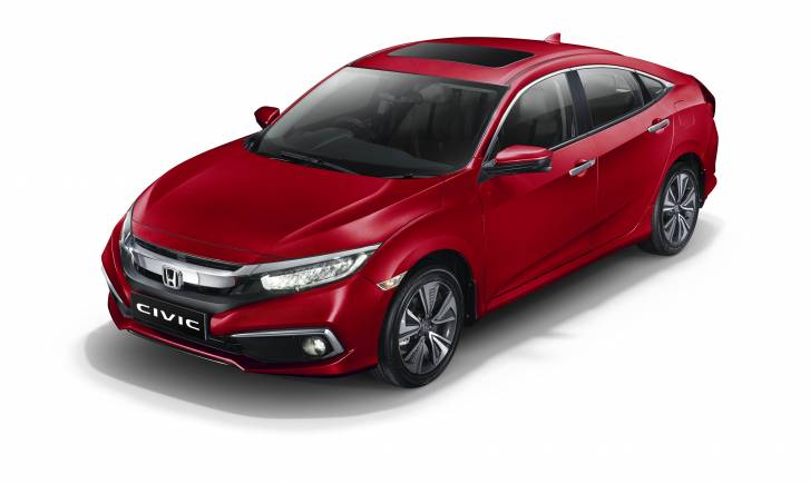 Honda Launches Civic Sedan At Rs 17 69 Lakh To Take On Toyota Corolla