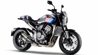 Honda unveils limited edition CB1000R+ for the global market with cosmetic changes