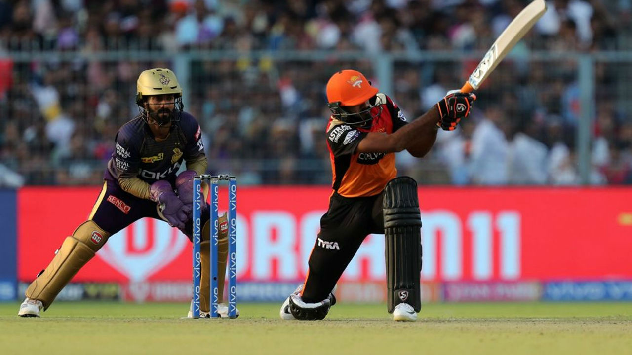 Yusuf Pathan was clean-bowled by Russell on 1 in the 18th over. But Indian all-rounder again proved his worth as he played a valuable cameo of 40 off 24 balls to help the visitors post 181/3 in 20 overs. Warner was the top scorer with 85.