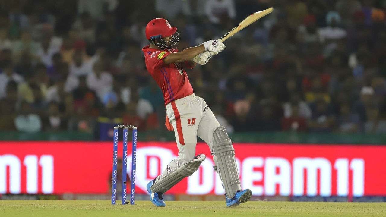 Rahul went on to complete his fifty in the 16th over as Punjab took complete control of the chase.