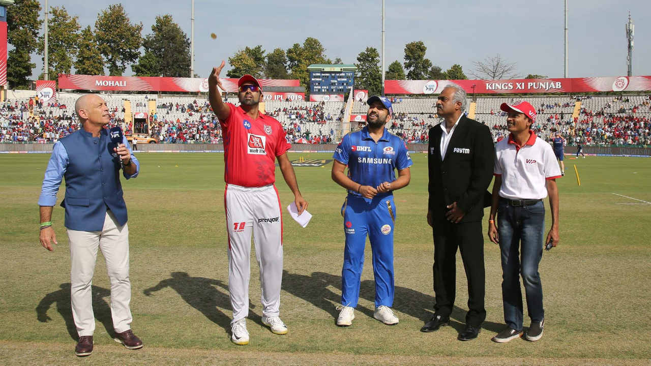 For match 9 of IPL 2019 KIngs XI Punjab (KXIP) welcomed Mumbai Indians (MI) for the first match of the season at Punjab Cricket Association IS Bindra Stadium in Mohali. Punjab's skipper R Ashwin won the toss and opted to bowl first.