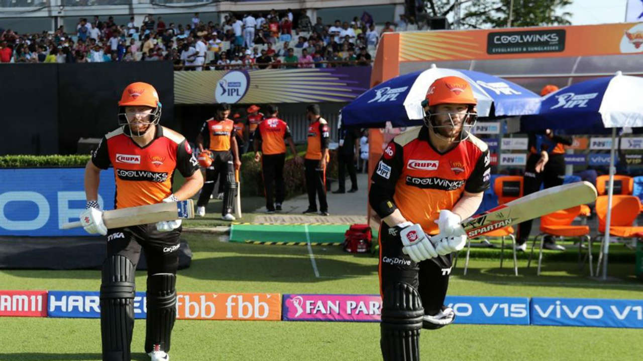 SRH was bolstered by the return of David Warner. The Australian opener missed last season after controversial ball tampering incident. The southpaw walked to open the SRH innings with England batsman Jonny Bairstow. The Englishman was making his IPL debut.