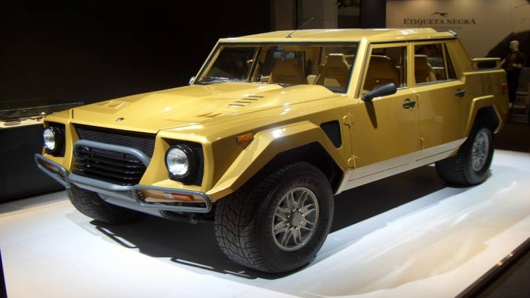 An Elephant In A Bull S Stable Lamborghini Lm002 Moneycontrol Com