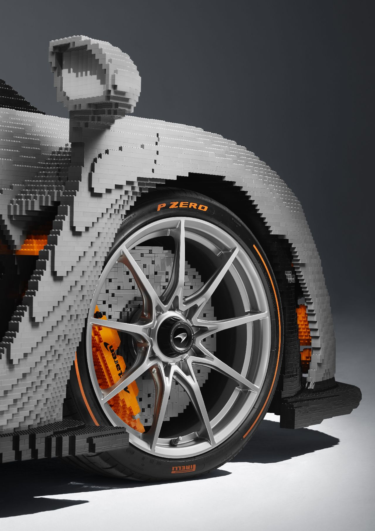 The replica is entirely hand built with the use of 4,67,854 pieces. 20,000 of these pieces were exclusively designed for the Senna build. (Image source: McLaren)
