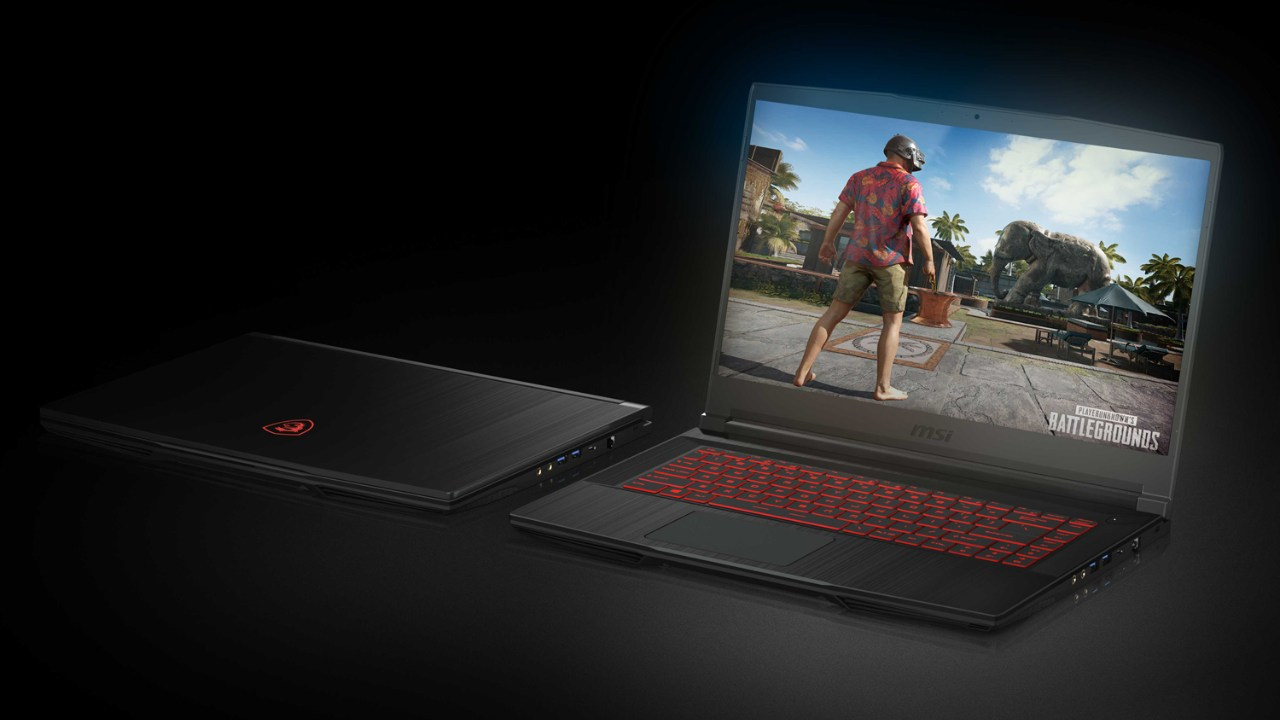 MSI GF63 | Rs 74,990|8th Gen Intel core i7-8750H | GTX 1050 | The MSI GF63 gaming laptop does an excellent job in terms of performance with its 8th generation Intel Core i7-8750H Coffee Lake CPU and Nvidia GTX 1050 graphics card. Additionally, the GF63 boasts a lightweight and slim chassis, making it ideal for students by day and gamers by night. This entry-level laptop won't have trouble dealing with E-sports titles. However, the plastic body and FHD display could use some work.