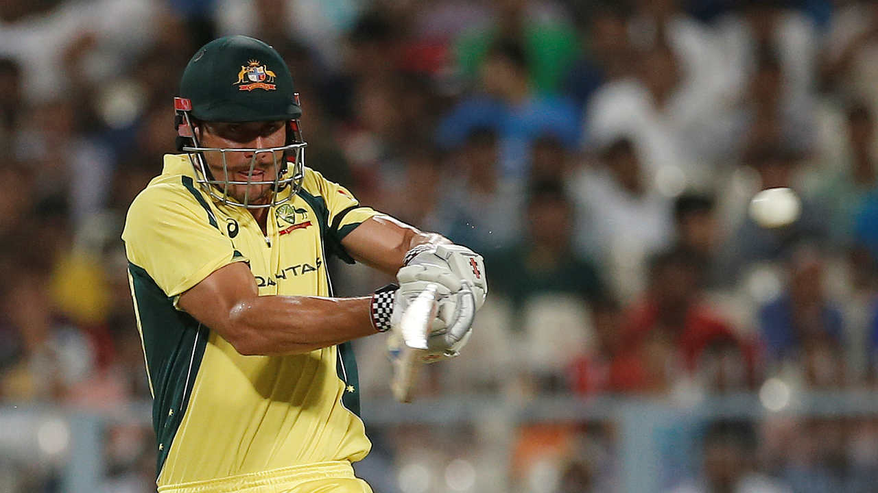Stoinis kept Australia in the hunt as he completed his fifty in the 48th over. (Image: Reuters, Representational )