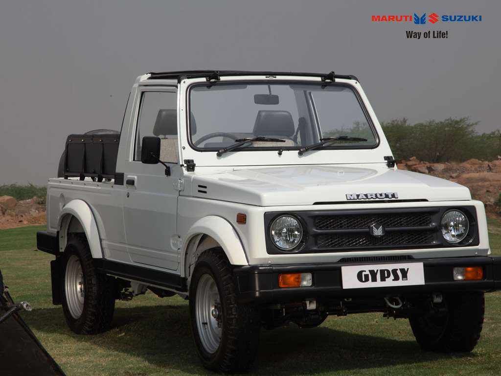 It's the end of the road for the iconic Maruti Gypsy and we are all sad that it has to go. Introduced first in the country in 1985, it sure had a 33 year old run. Timeless symbol of cool, manifestation of a classic off-roader, this car has been one of the longest production models in India. (Image source: Maruti Suzuki)