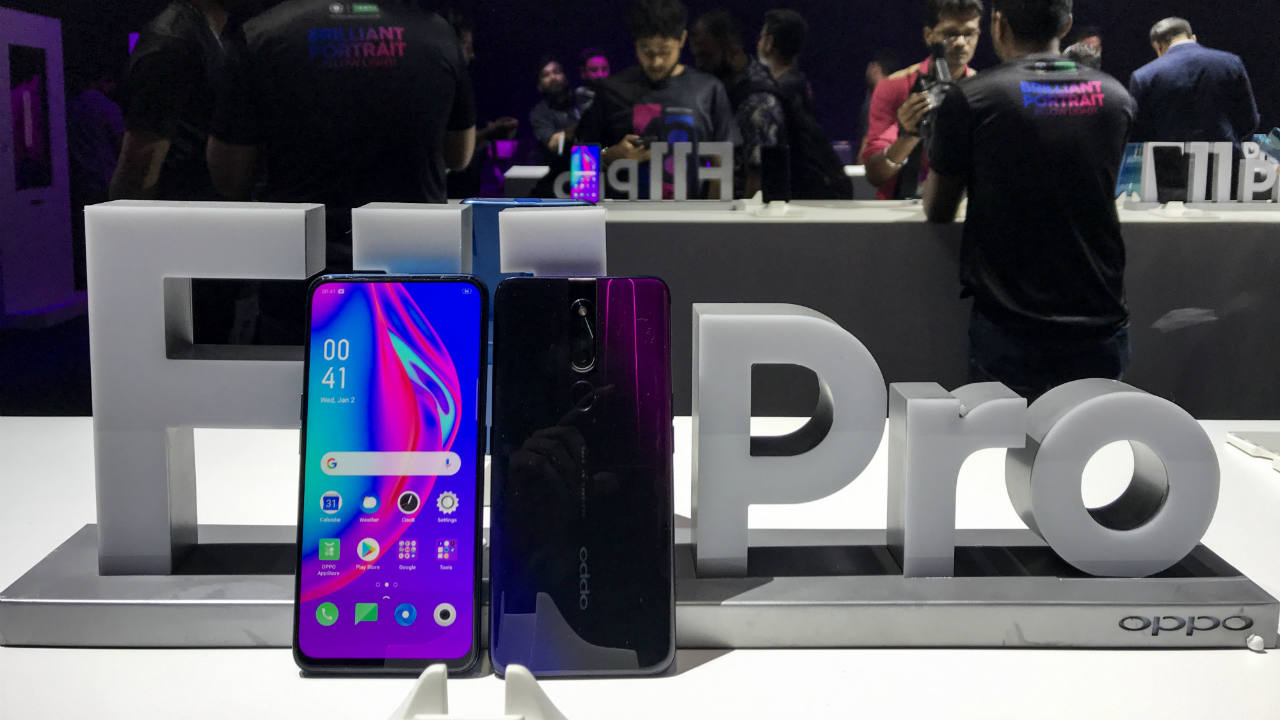 Oppo has launched the F11 Pro in India. The phone has an all screen display with a mechanical pop-up camera