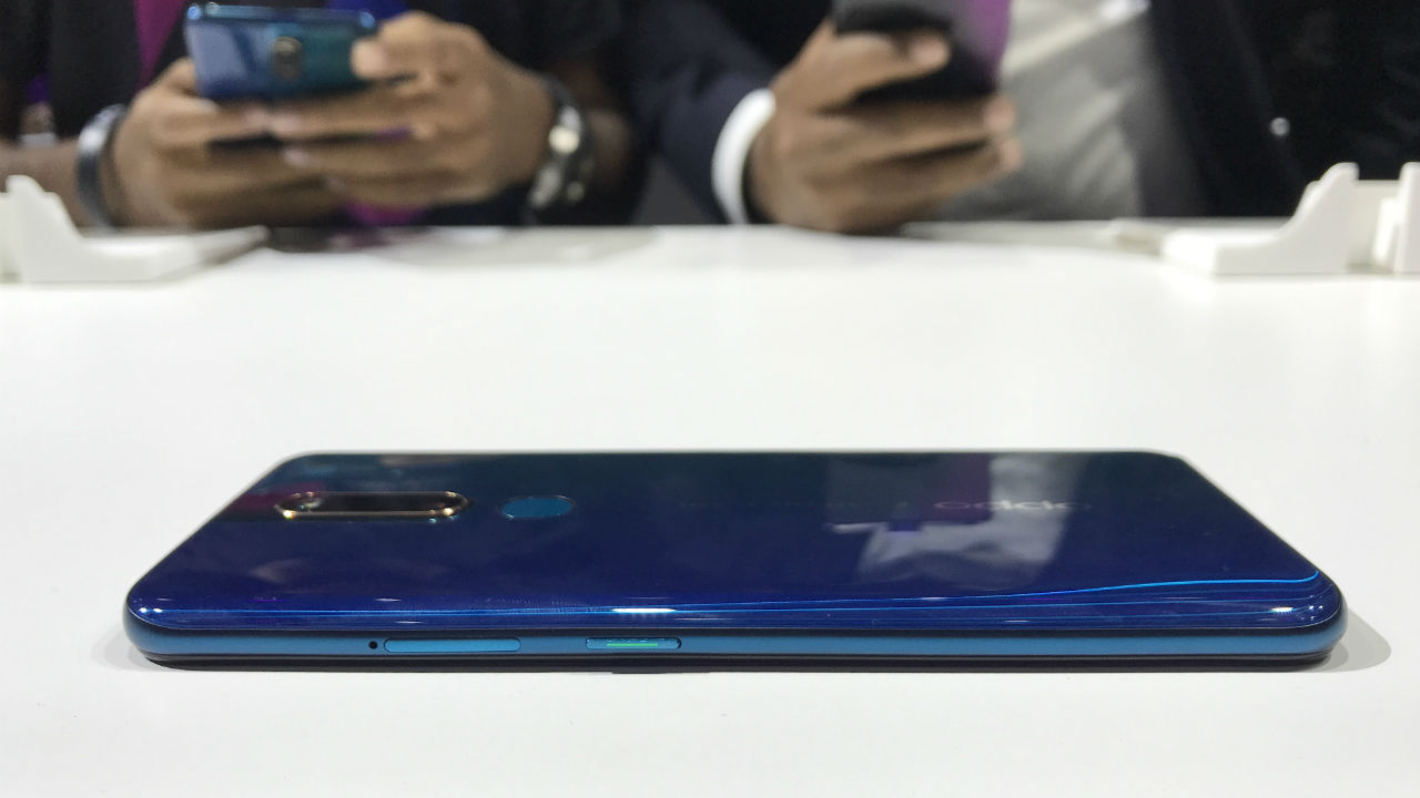 Oppo's betting high on the performance and battery life of the F11 Pro. The phone has a massive 4,000 mAh battery with 20W VOOC 3.0 fast-charging.