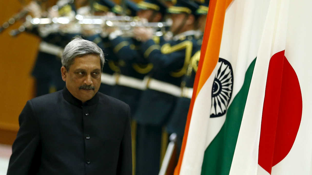 When the Narendra Modi government came to power in 2014, Parrikar replaced Arun Jaitley as the Minister of Defence. (Image: Reuters)