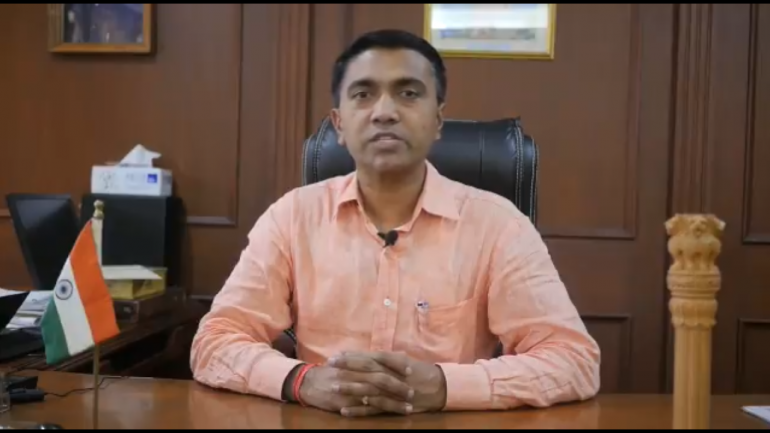 BJP's Pramod Sawant takes oath as Goa's Chief Minister