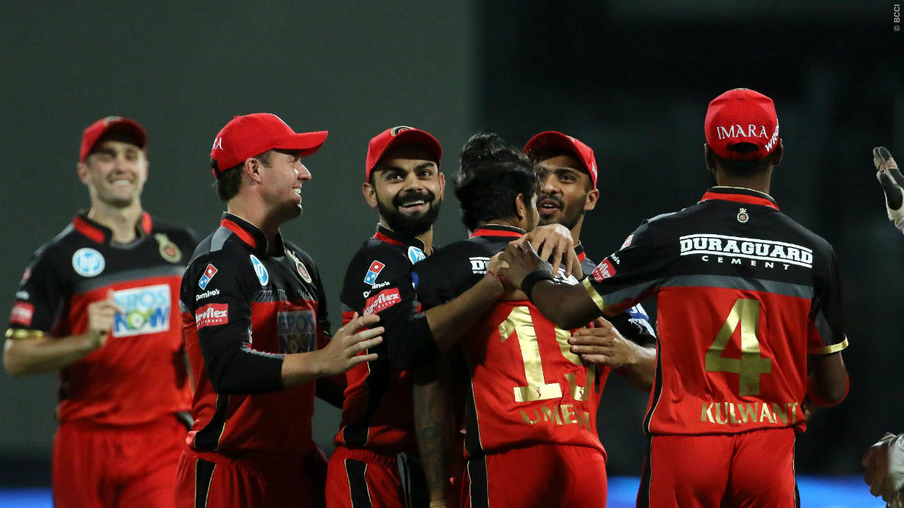 RCB holds the record of the highest and the lowest team total in tournament's history. The team hammered 263/4 in 20 overs against Gujarat Warriors at Bengaluru in 2013 but were bowled out for paltry 49 in mere 9.4 overs against KKR in Kolkata in 2017.(Image: BCCI, iplt20.com)