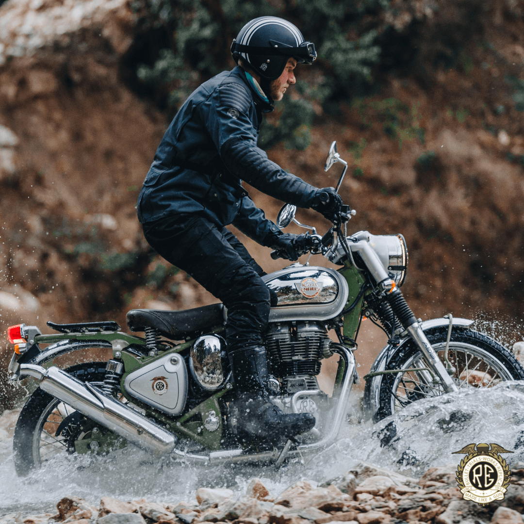 Bullet Trials 500 is priced at Rs 207,104 (ex-showroom). The 500 version is available only in green colour. The ex-showroom prices for Kerala have been kept at Rs 199,899 to account for high levies and taxes in the state(Image: Royal Enfield)