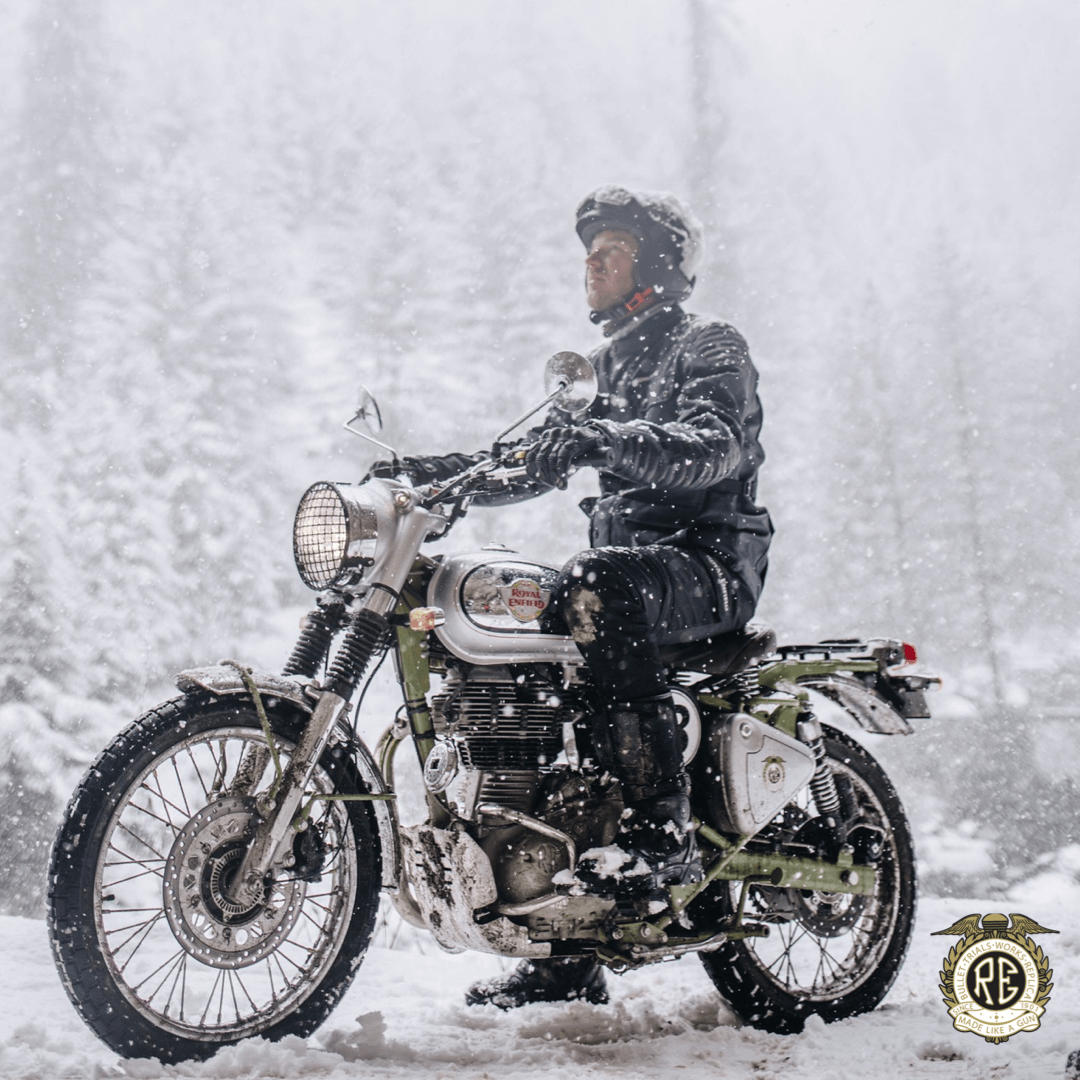 The bikes will be available with more than 30 genuine motorcycle accessories. Royal Enfield has designed and developed five specific motorcycle accessories for Bullet Trials - compact engine guard, headlight grill, number board, aluminium sump guard and the handlebar brace pad. (Image: Royal Enfield)