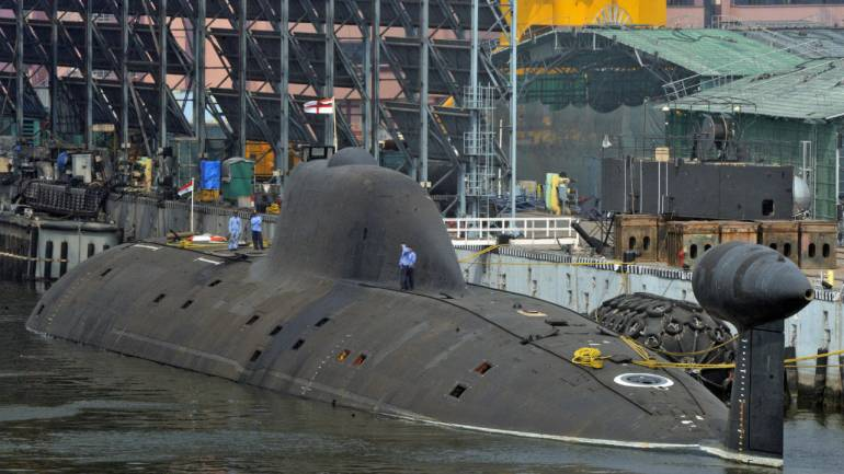 Pak Navy claims it thwarted Indian submarine from entering its waters