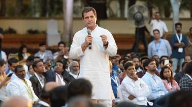 Lok Sabha poll tracker LIVE: We will abolish Angel tax, says Congress chief Rahul Gandhi at entrepreneurs' meet in Bengaluru