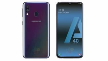 Samsung unveils Galaxy A40 with notch display, Exynos 7885 SoC; India launch expected soon