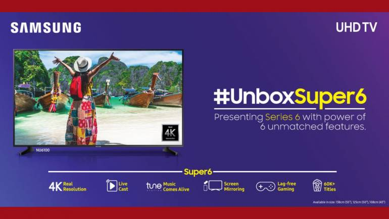 Samsung aim to disrupt affordable 4K TV market with Super 6 series UHD  smart TVs