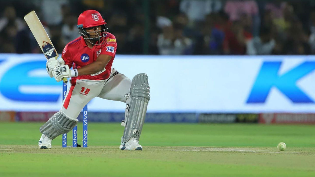 Sarfaraz Ahmed played a late cameo of 46 off 29 balls to power Punjab 184/4 in 20 overs. (Image: BCCI, iplt20.com)