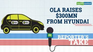 Ola raises $300mn from Hyundai