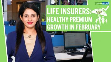 Life insurers: Healthy premium growth in February