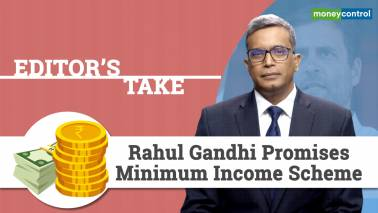 Rahul Gandhi promises minimum income