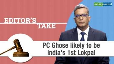 PC Ghose likely to be India's 1st Lokpal
