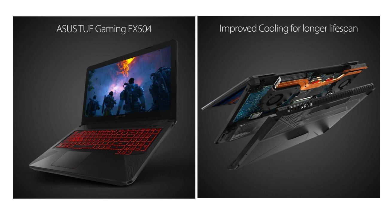 ASUS TUF FX504 |Rs 72,990 | Intel Core i7-8750H | Nvidia GTX 1050 Ti | Easily the best value for money laptop on the list, the Asus TUF gaming laptop offers excellent performance and audio quality. The laptop also incorporates improved thermal technology to run relatively cool under pressure. While the TN panel on the TUF can be a bit dim, it boasts a 120 Hz refresh rate, which should give you an edge in games that run at over 60 fps on the system.