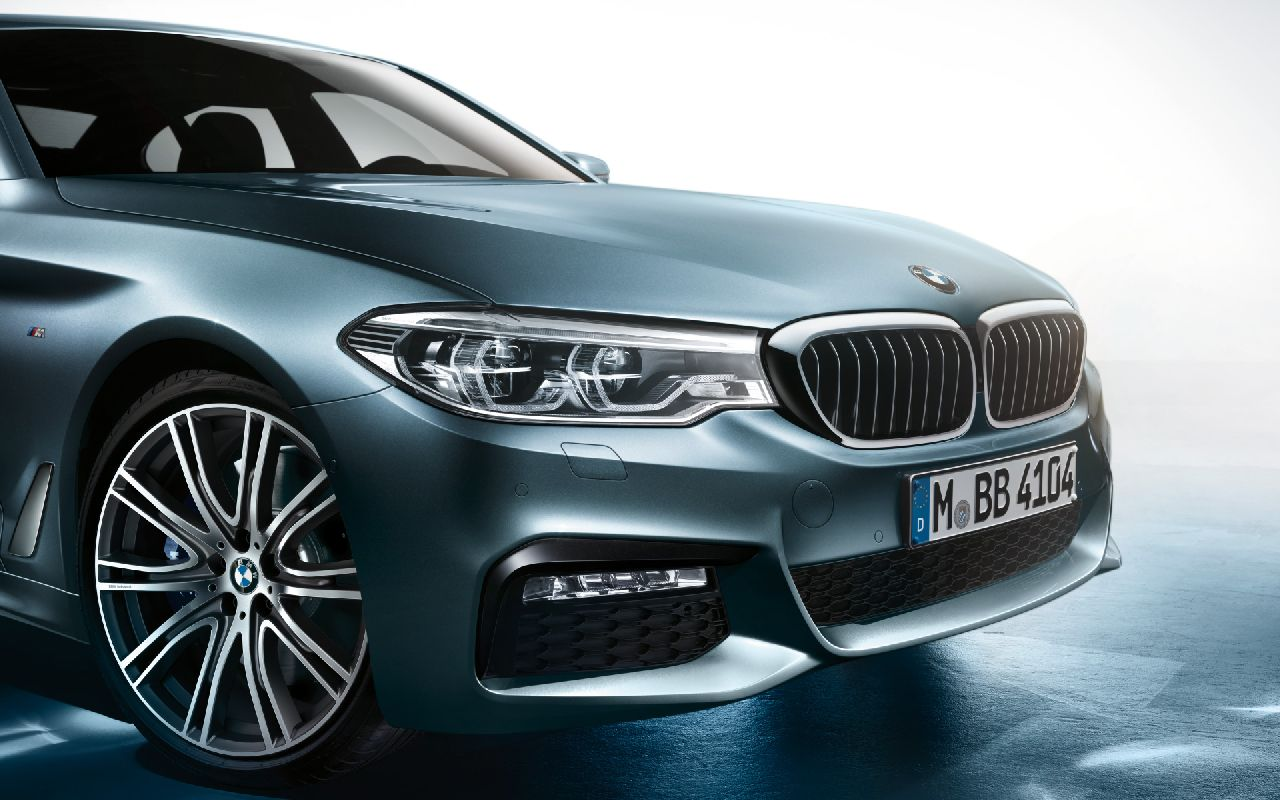 """The car's tailpipes are also coloured in high-gloss Chrome while the car stands on 18"""" light-weight alloy wheels to further highlight its M Sports package. The car also sports the characteristics 'M' logo on both the sides."""