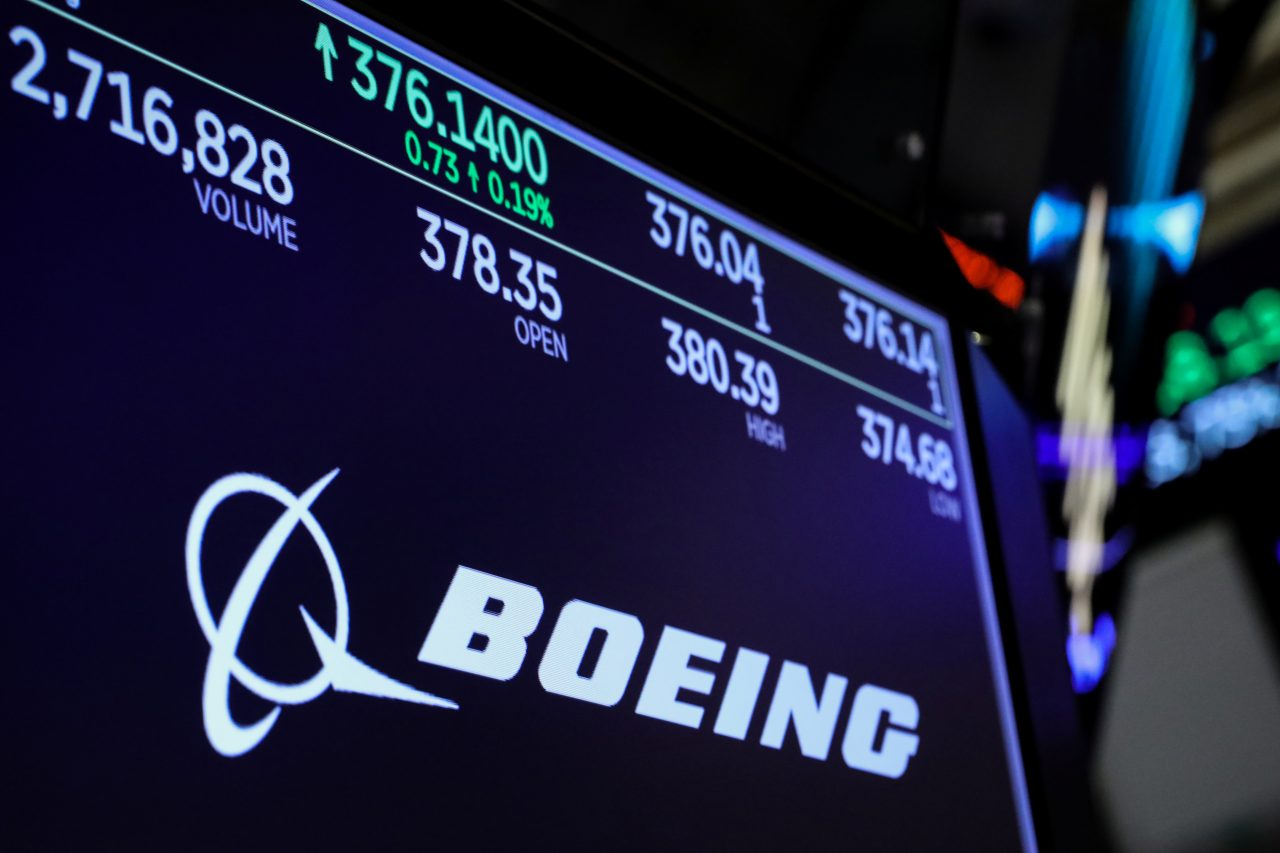Boeing's stock crash | Hours after US President Donald Trump announced the grounding of Boeing's 737 Max planes across the country, shares of the airplane manufacturer plummeted nearly 3 percent. Since Ethiopian Airlines crash on March 10, Boeing's stock has dropped more than 10 percent, wiping out more than $25 billion of the company's market value. (Image: Reuters)