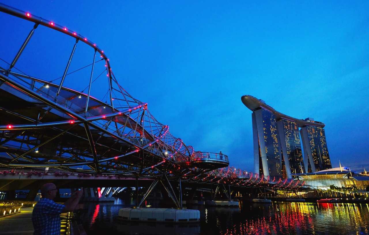 2. Singapore | Singapore | Bleisure score: 4.05 (Image: Reuters)