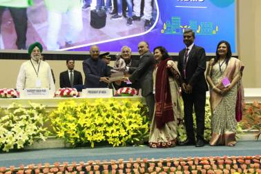 Indore gets cleanest city award for the third time