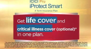 Term Plans - Protect against critical illness