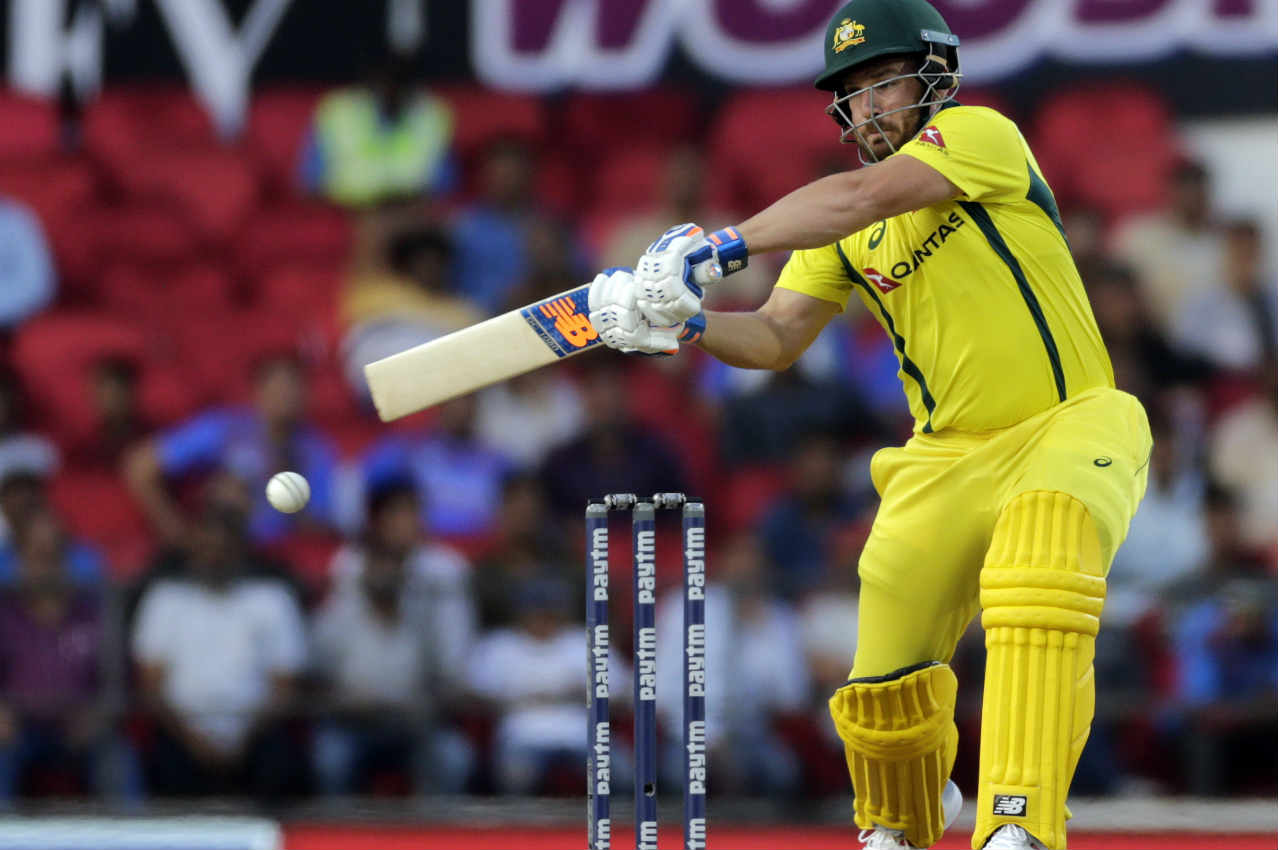 ind vs aus 2nd odi aaron finch