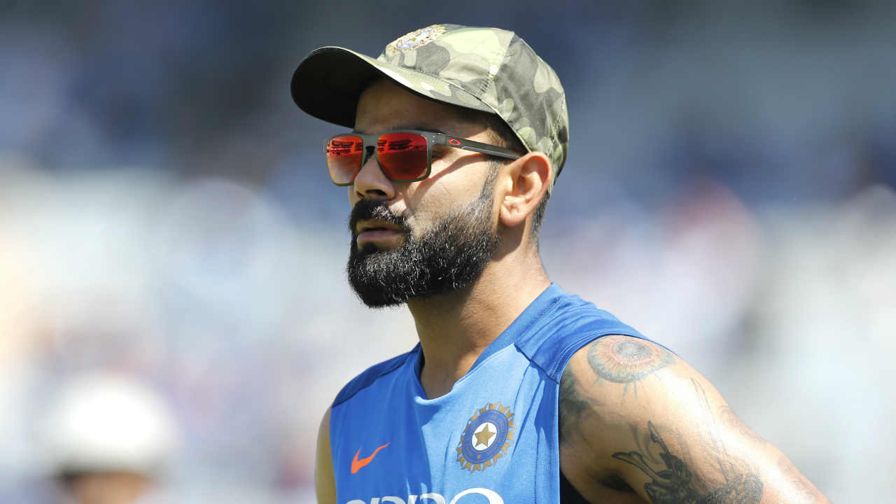 In a special gesture to the Indian Armed Forces, the Indian cricket team wore special Camouflaged caps and donated their entire match fees of the game to the National Defence Fund. MS Dhoni-playing in front of his home crowd-himself a Lt. Col. with the Territorial Army, presented the caps to each member of the team . (Image: AP)