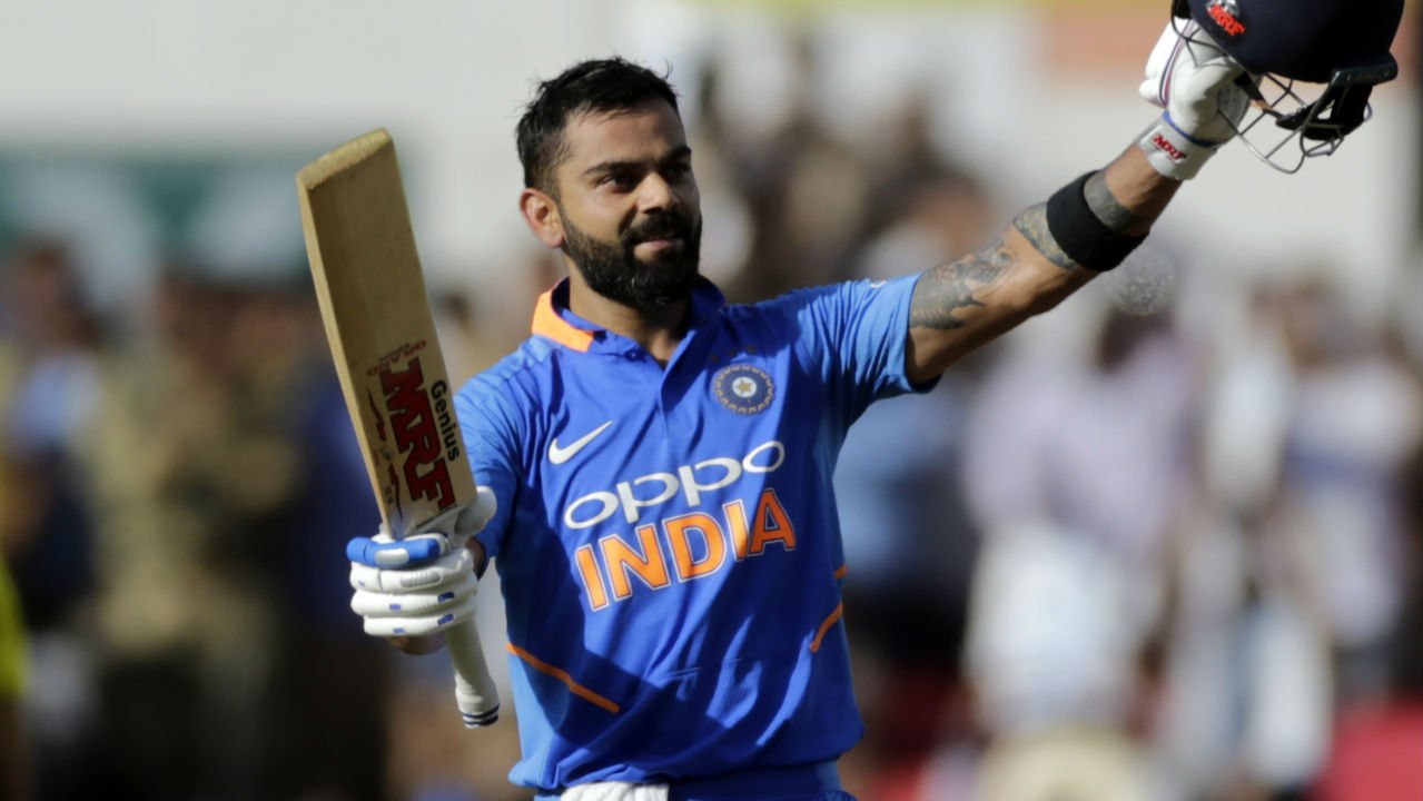Fastest batsman to reach 10, 000 ODI runs | The Indian batting maestro is also the batsman with fastest 10,000 runs in ODI cricket. The historic feat was again achieved against West Indies in 2018 when Kohli smashed 157 not-out in the second ODI of West Indies tour of India. Kohli surpassed his countryman Sachin Tendulkar as he achieved the feat in his 205th innings against Tendulkar who who did it in 259 innings in 2001. (Image: AP)