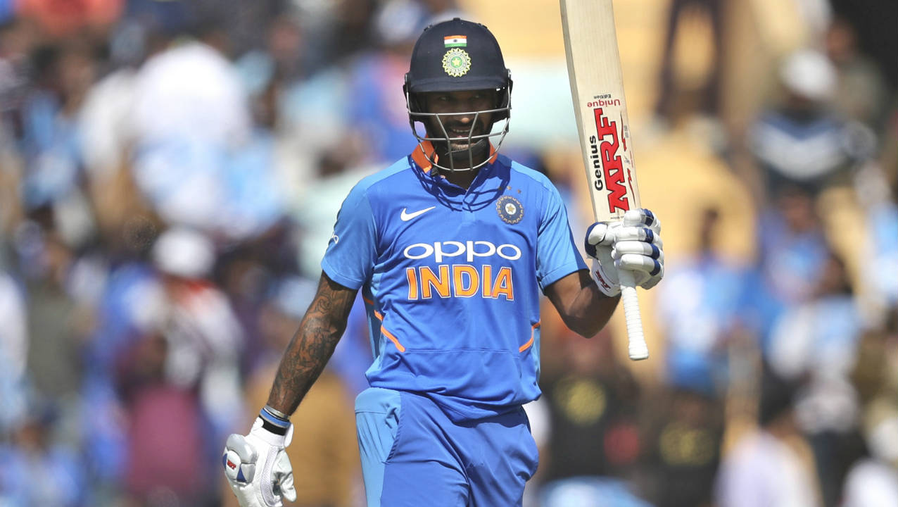 Shikhar Dhawan (India) | Shikhar Dhawan's form is like a wild swinging pendulum. His scores of 0, 21, 1, 143 and 12 being case in point. Dhawan's blitzkrieg at Mohali when he scored a career best of 143 should comfort Indian fans that all is not wrong with the stylish opener. In that innings, Dhawan ripped apart the Australian bowling. Series Stats | Matches: 5 | Innings: 5 | Runs: 177| Highest Score: 143| Average: 35.40| Strike Rate: 104.11| 100s: 1| 50s: 0 (Image: AP)