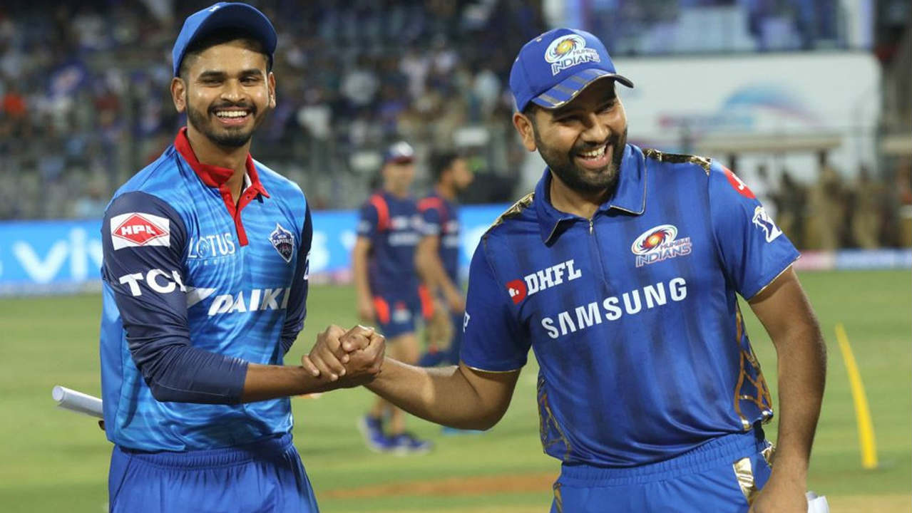 Mumbai Indians welcomed Delhi Capitals to the Wankhede Stadium for the 2nd match on the 1st Super Sunday of IPL 2019. Rohit Sharma won the toss and opted to bowl first. (Image: BCCI, iplt20.com)