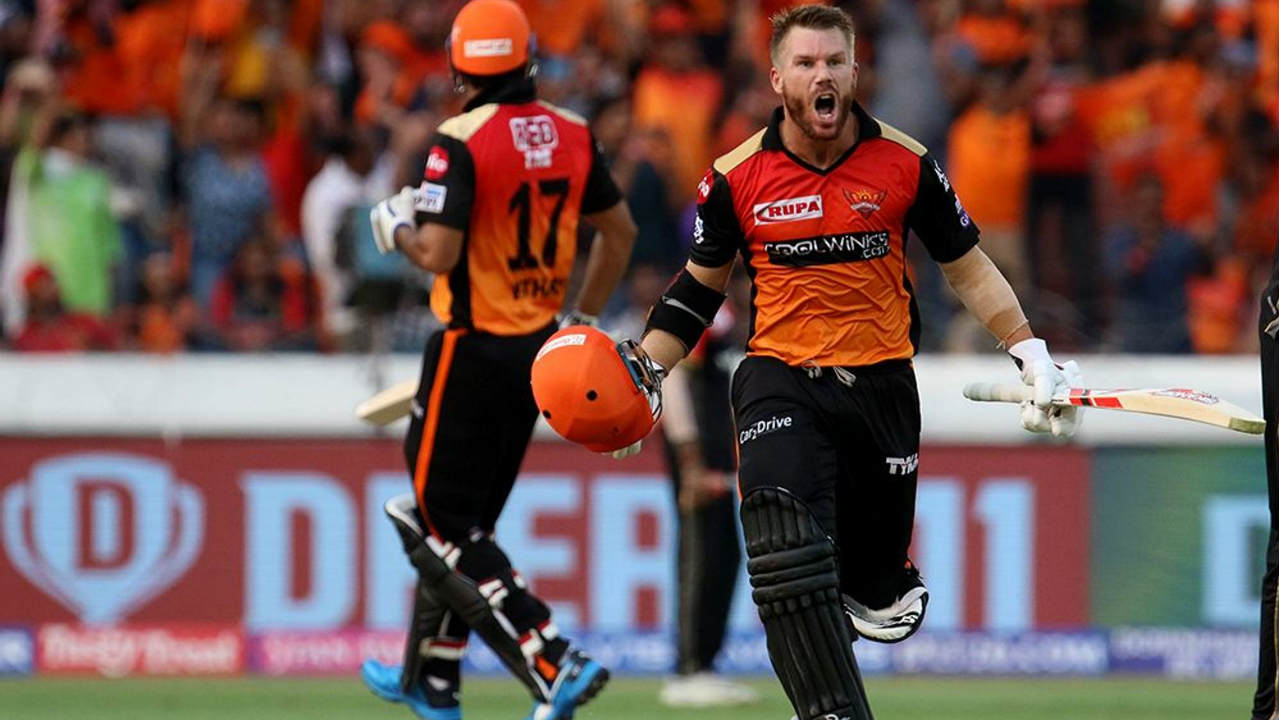 ipl 2019, srh vs rcb, david warner