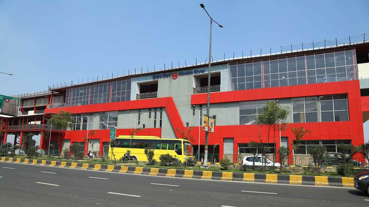 Prime Minister Narendra Modi will inaugurate the 9.4-km-long Dilshad Garden-New Bus Adda section of the Red Line on March 8 and the 6.6-km Noida City Centre-Noida Electronic City section of the Blue Line on March 9. Both the extensions will open to the public on March 9, with the Red Line extension opening to the public at 8 am, while the Blue Line extension to open at 4 pm. These DMRC images are shared exclusively with Moneycontrol.